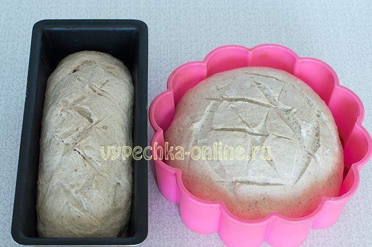 хлеб из льняной муки