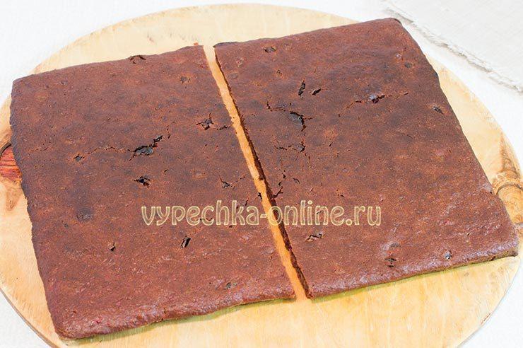 медовая коврижка постная рецепт с фото