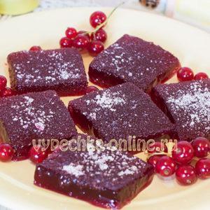 Мармелад из красной смородины в домашних условиях рецепт с фото