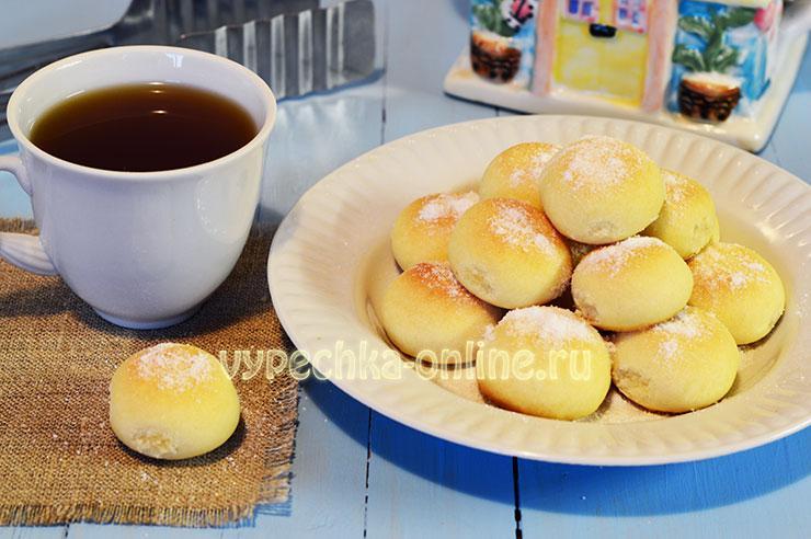 печенье с крахмалом тающее во рту рецепт с фото