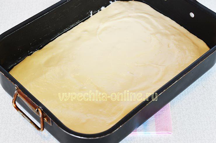 пирог с красной и черной смородиной быстрого приготовления