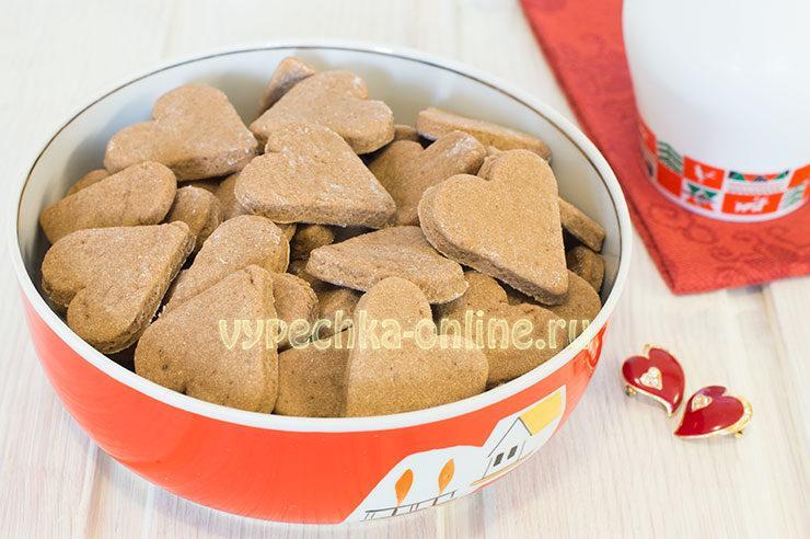 Песочное печенье на скорую руку