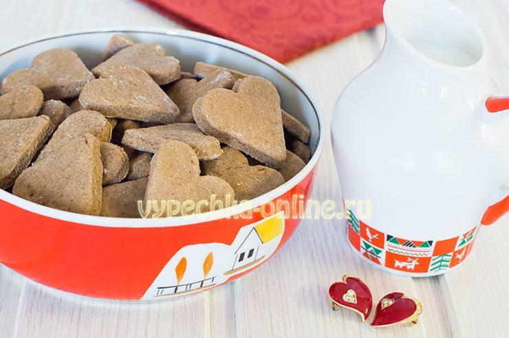 Шоколадное печенье простой рецепт с какао