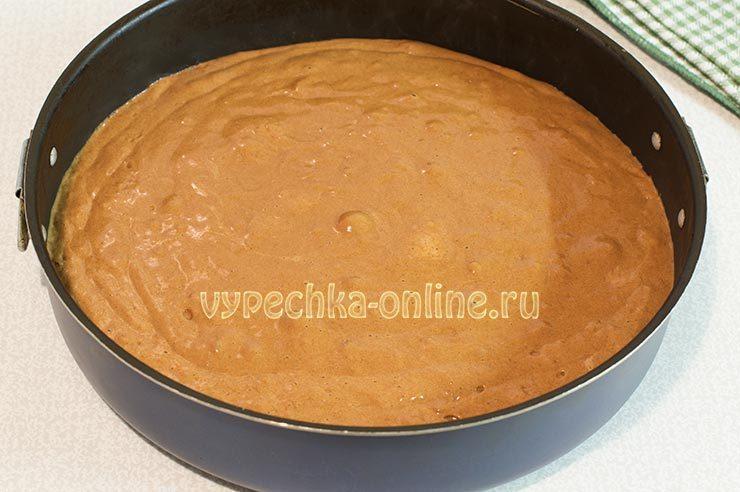 торт панчо с вишней рецепт
