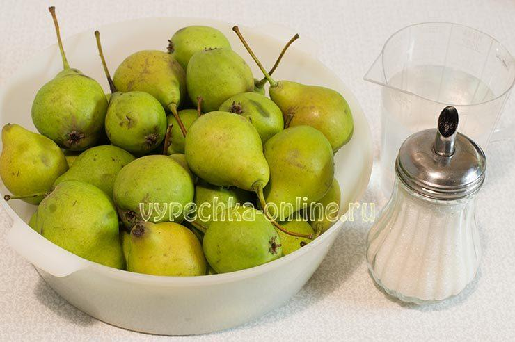 Варенье из груш на зиму простой рецепт пошаговый