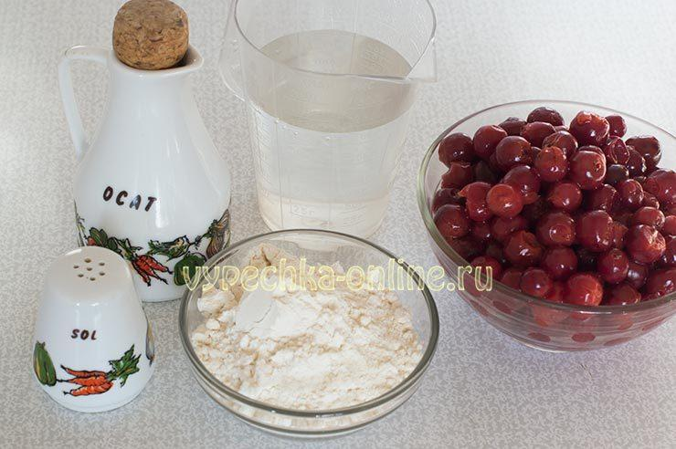 чебуреки с вишней рецепт