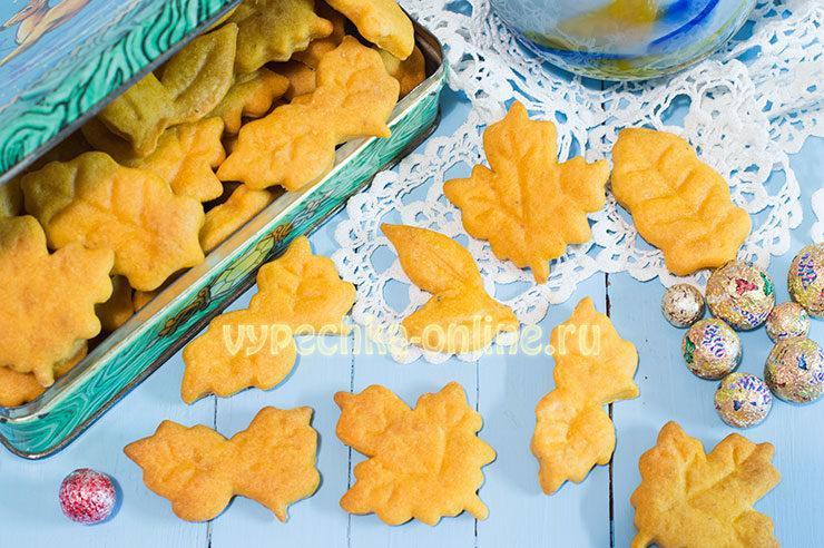 Постное печенье рецепт простой в домашних условиях с фото