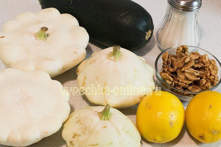 Варенье из кабачков с лимоном на зиму пошаговый рецепт