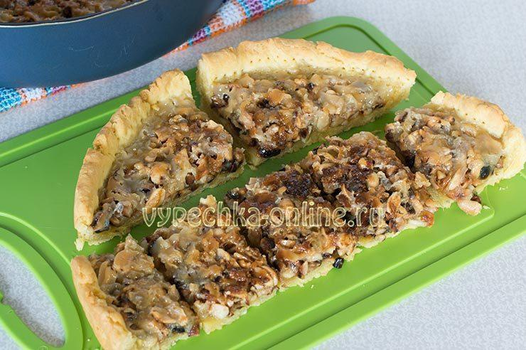 пирог со сгущенкой в духовке рецепт с фото