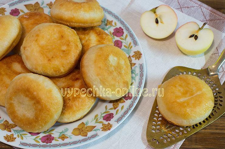 Пончики на дрожжах и молоке