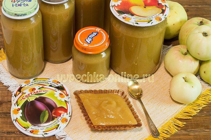 Пюре из сливы и яблок на зиму рецепт для детей