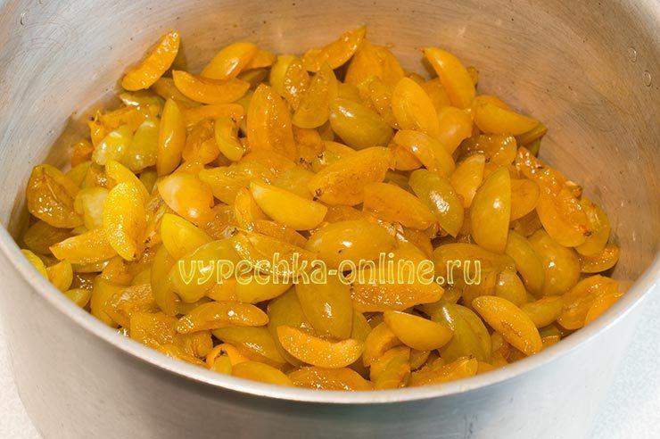 варенье из желтой сливы простой рецепт