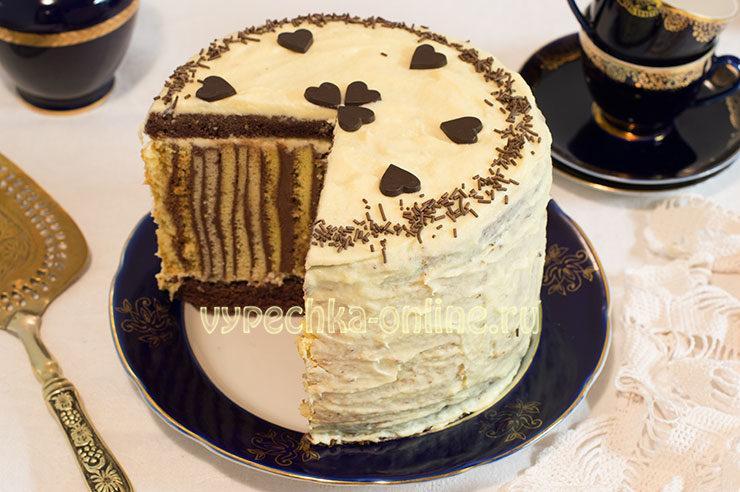 Рецепт красивого торта