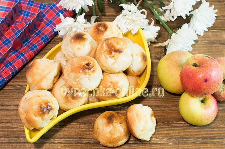 Кексы с яблоками рецепт с фото пошагово в духовке