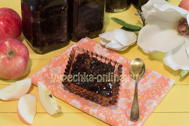 Заготовка из яблок на зиму рецепт с фото