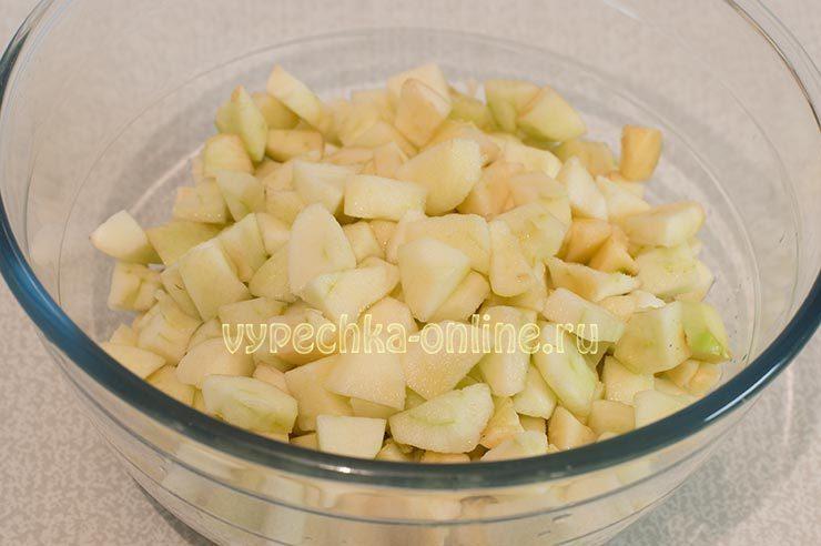 американский яблочный пирог рецепт с фото