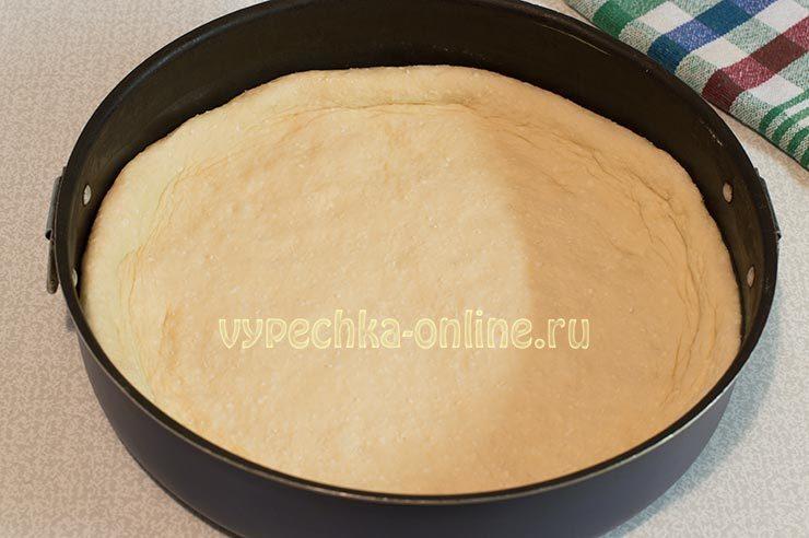 пирог с калиной из дрожжевого теста