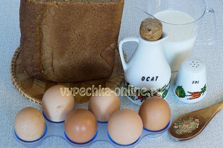хлеб в яйце с молоком рецепт с фото пошагово