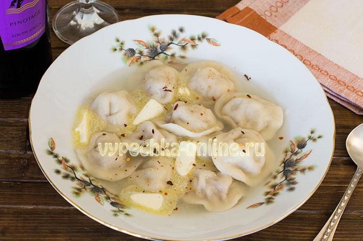 Домашние пельмени пошаговый рецепт с фото вручную