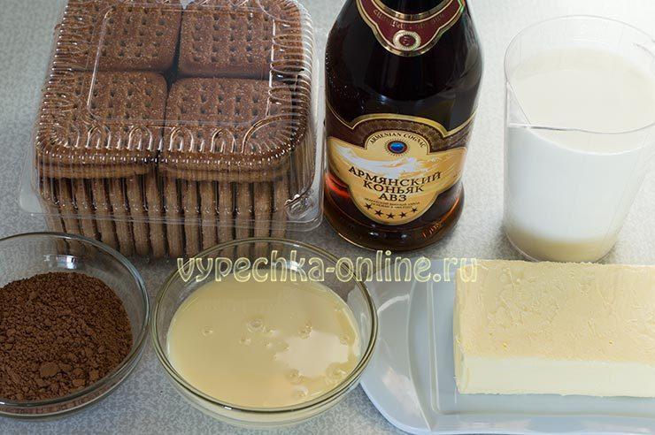 Как сделать пирожное картошка из печенья и сгущенки