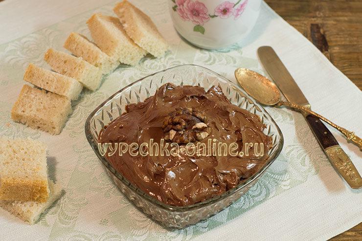 Шоколадное масло в домашних условиях рецепт с какао
