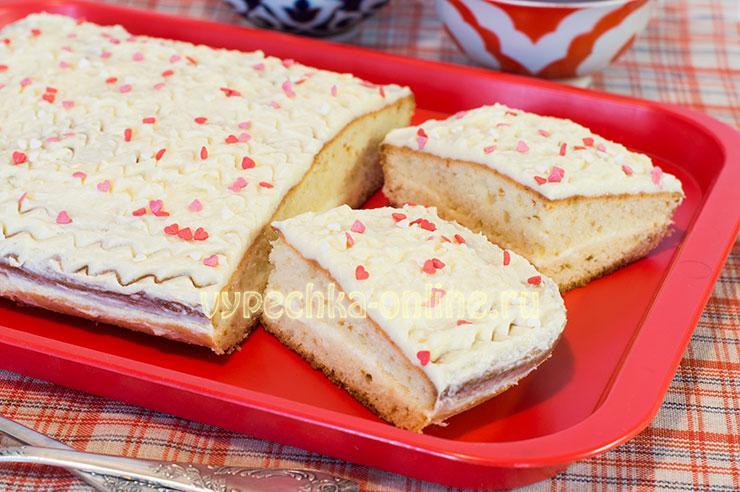 Бисквит на майонезе рецепт