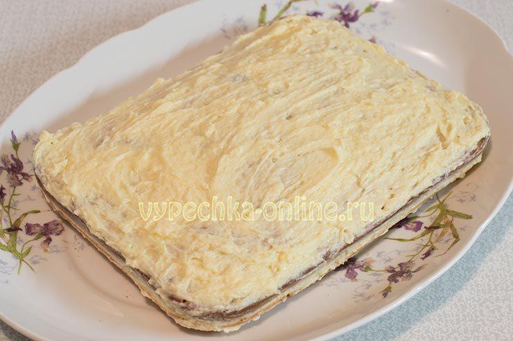 Коржи на майонезе для торта