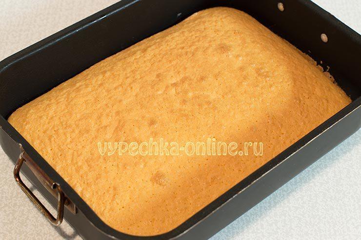 Торт с лимонным кремом рецепт с фото