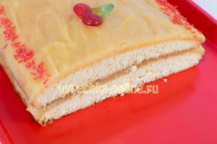 Торт с лимонным курдом рецепт