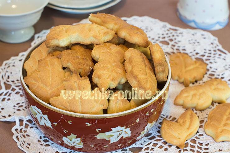 Самое простое песочное печенье рецепт