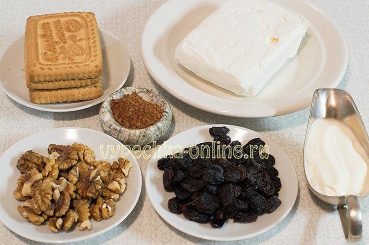 Творожный десерт без выпечки рецепт с фото