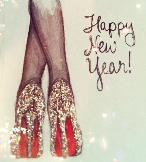 Новый год, шпильки