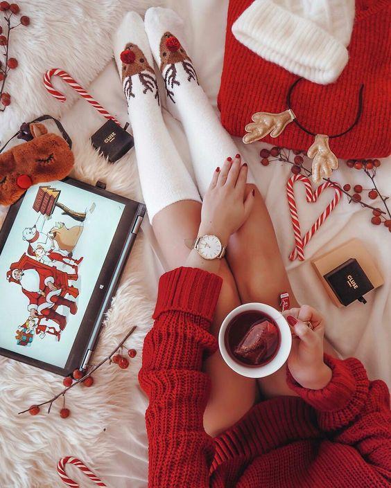 Уютное зимнее фото на аватарку