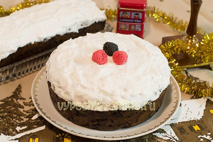 Английский рождественский кекс рецепт