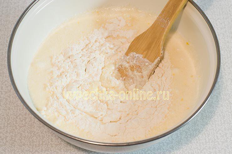 Тесто на лимонный бисквит