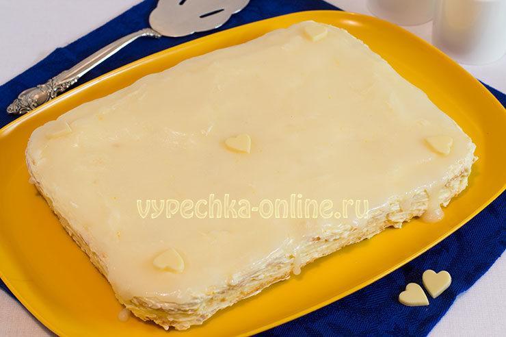 Лимонный торт рецепт с фото пошагово в домашних условиях