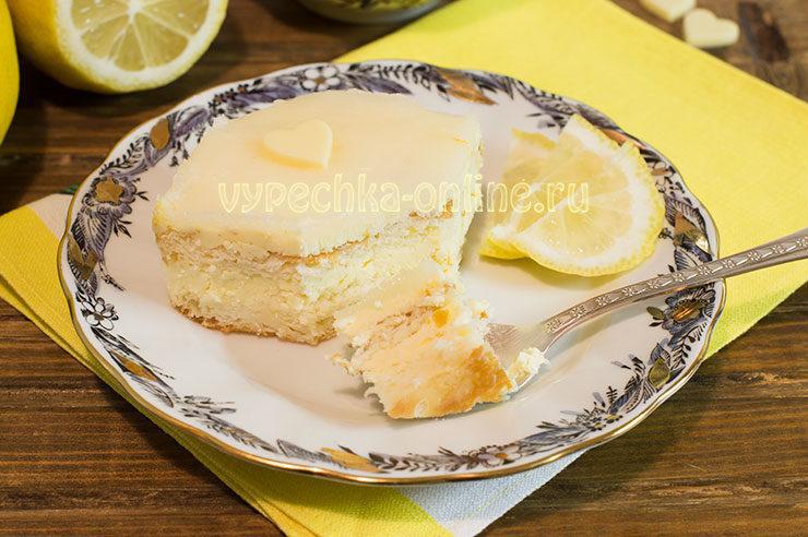 Лимонный торт наивкуснейший рецепт