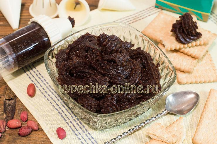 Нутелла в домашних условиях рецепт с пошаговыми фото