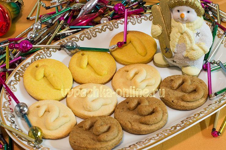 Песочное печенье в домашних условиях рецепт с фото пошагово