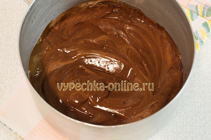 Творожный крем с шоколадом