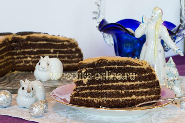 Самый вкусный бисквитный торт с кремом