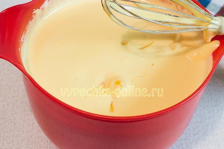 Яичная масса с мёдом