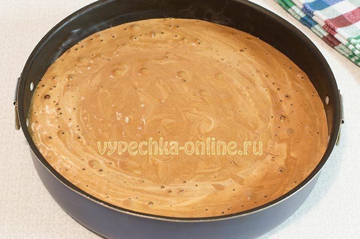 Тесто на шоколадный бисквит