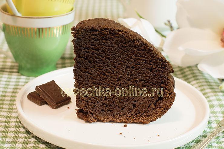 Кекс с какао в хлебопечке