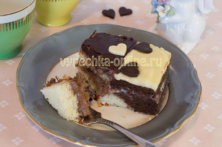 Торт Инь-ян для любимого мужчины