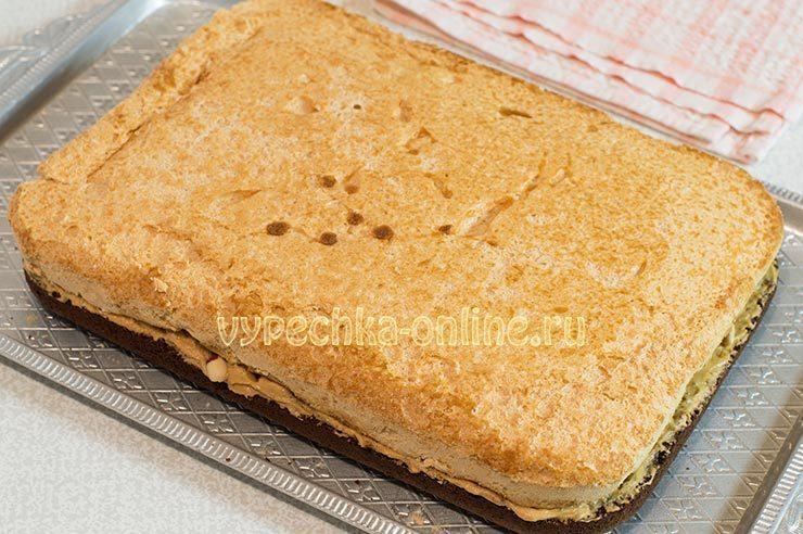 Торт бисквит и безе