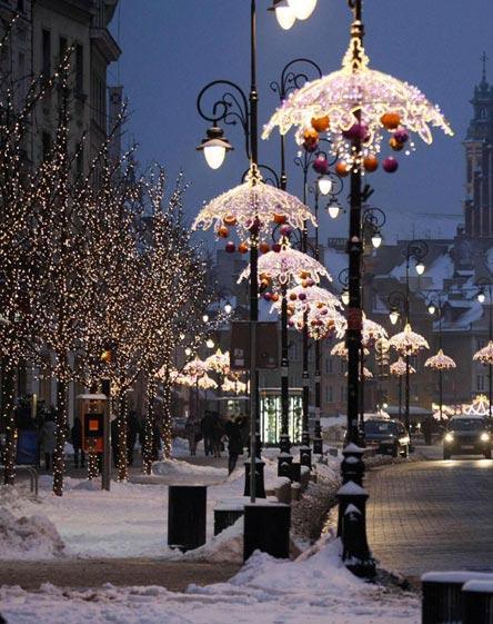 Варшава на Рождество Христово