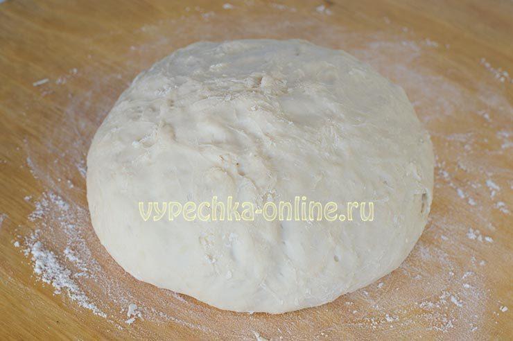 Заварное тесто для чебуреков, пельменей, вареников