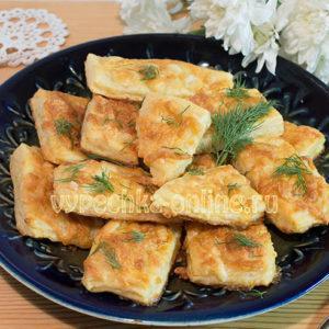 Слойки с сыром рецепт