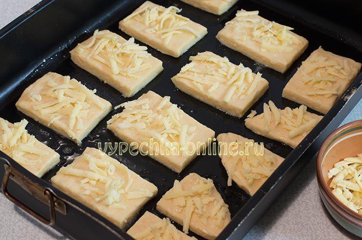 Сырные лепешки в духовке рецепт с фото пошагово